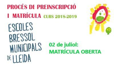 Imatge del event EBM 2018/2019: MATRÍCULA OBERTA