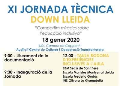 XI JORNADA TÈCNICA DOWN LLEIDA