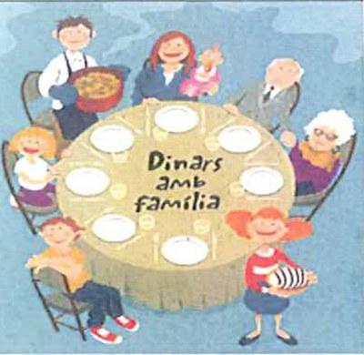 Dinars amb família: Els pares i mares que ho desitgin podran dinar al menjador escolar dels seus fills/es.