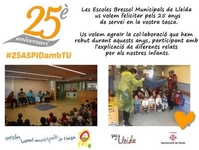 El centre ASPID celebra els seus 25 anys.