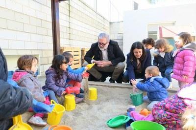 Imatge de la notícia L'Ajuntament de Lleida renova de manera integral el pati de l'Escola Bressol de la Bordeta