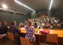 Imatge de la notícia L'alcalde Àngel Ros dóna la benvinguda al curs escolar al conjunt de mestres i educadors de la xarxa d'escoles bressol