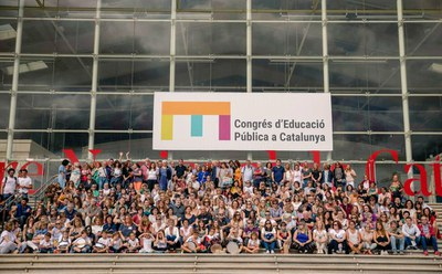 Les EBM de Lleida assiteixen a la inauguració del I Congrés d'Educació Pública de Catalunya