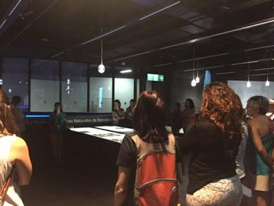 Les professionals de les Escoles Bressol Municipals de Lleida visiten el niu de ciència del Museu de Ciències Naturals de Barcelona