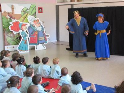 """Representació del conte: """"La Princesa Cuinera"""" a l'Escola Bressol  Municipal del Secà"""