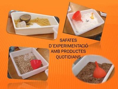 Safates d'experimentació