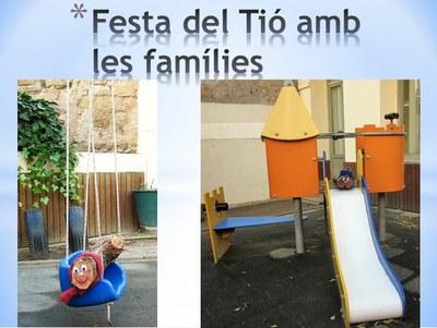 Festa del Tió amb les famílies