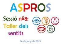 Imatge del event ASPROS: nº8 Sessió Taller dels sentits
