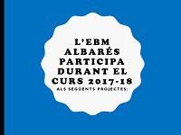 L'EBM Albarés participa en aquests projectes
