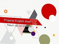 "Projecte ""English time Albarés!"" -  Resum del 1er trimestre"