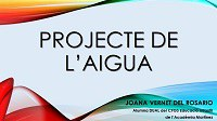 """Projecte """"L'aigua"""""""