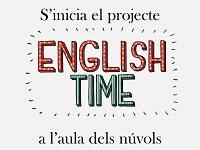 """S'inicia el projecte """"English time!"""" a l'aula dels núvols"""