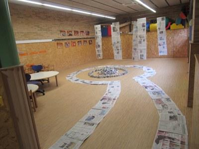 Transformació paper diari