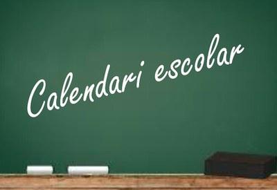 Imatge del event Calendari Escolar