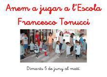 Sortida a l'Escola Francesco Tonucci