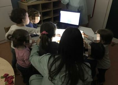 Una experiència de tecnologies digitals a l'aula