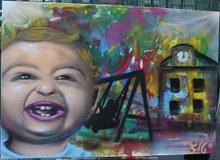 Els infants de l'EBM Rellotge som uns artistes