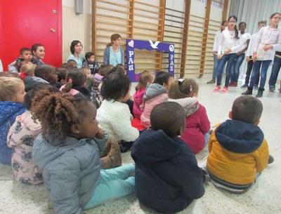 Assistim al concert de Santa Cecília a l'escola Joan XXIII