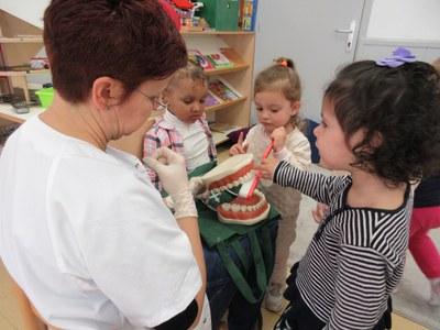 Ens visita la infermera Marta del CAP 1er de Maig