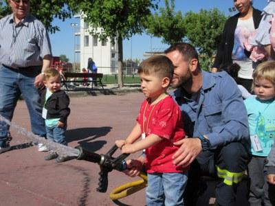 Visitem el parc de bombers de Lleida