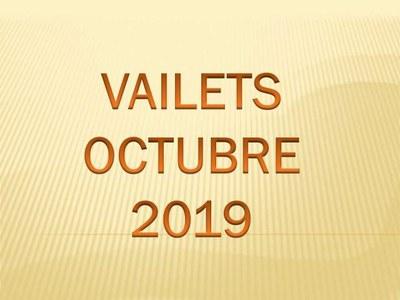 Activitats Vailets octubre