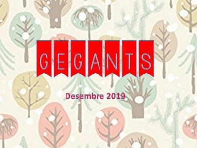 Gegants. Desembre 2019