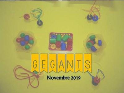 Gegants. Novembre 2019