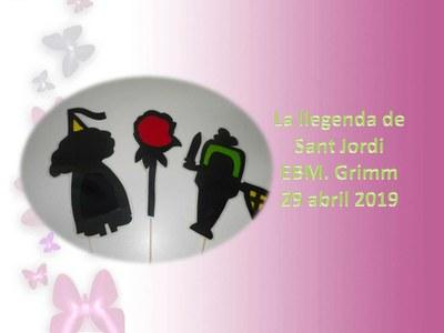 Imatge de la notícia Llegenda Sant Jordi 2019