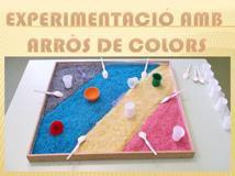 Experimentació amb arròs de colors