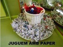 """Sessió multisensorial """" Juguem amb paper"""""""