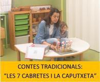 Projecte: Les famílies particiepen: contes tradicionals