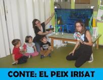 """Projecte: Les famílies participen, """"El peix irisat"""""""