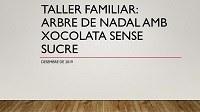 Taller arbre de xocolata sense sucre