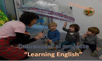 """Imatge del event Comencen el projecte """"Learning English"""""""