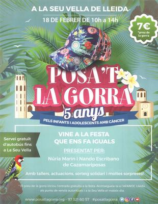 Les escoles bressol municipals participen a la festa POSA'T LA GORRA