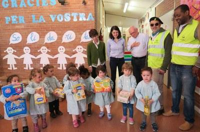 5 anys del projecte solidari amb el Banc d'Aliments a les Escoles Bressol Municipals