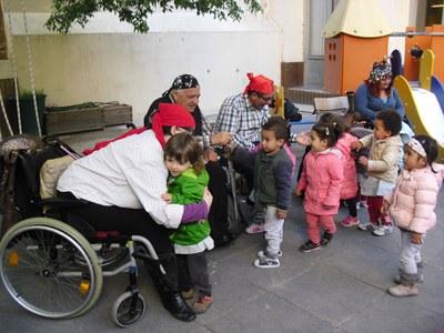 Contacontes de l'associació ASPID a les Escoles Bressol Municipals de Lleida