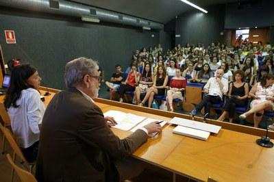 Imatge de la notícia L'alcalde de Lleida, Fèlix Larrosa, remarca el compromís de la Paeria amb la xarxa d'escoles bressol, líder a tot l'Estat